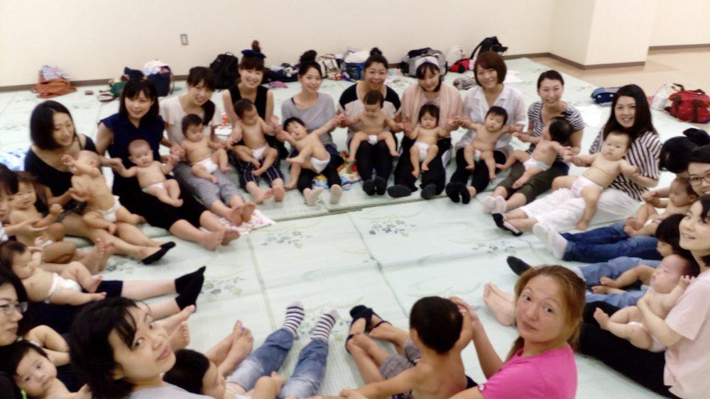 ベビービクス、リトミック、フラダンス、体操遊びで親子でいきいき楽しく体験しませんか?親子コミュケの会 開催案内
