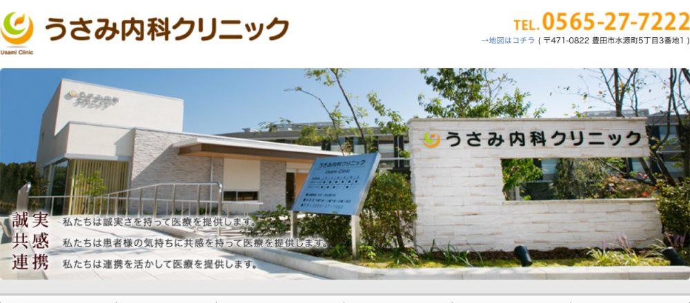 うさみ内科クリニック 豊田市 内科 消化器内科 胃カメラ 大腸カメラ 訪問診療